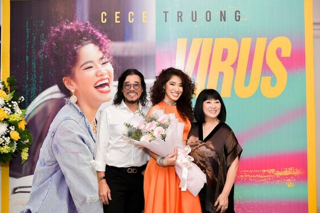 """Dàn sao """"khủng"""" đến chúc mừng con gái út Cẩm Vân - Khắc Triệu ra mắt MV - Ảnh 4."""