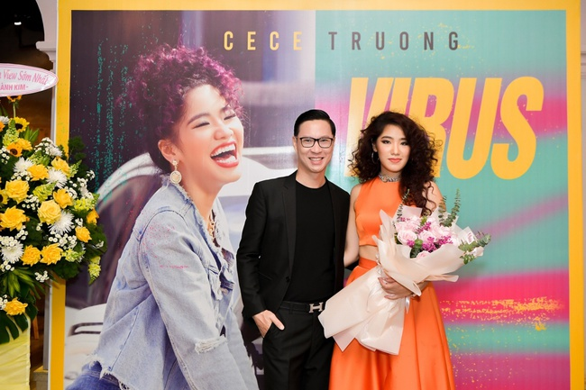"""Dàn sao """"khủng"""" đến chúc mừng con gái út Cẩm Vân - Khắc Triệu ra mắt MV - Ảnh 8."""