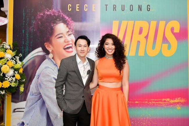 """Dàn sao """"khủng"""" đến chúc mừng con gái út Cẩm Vân - Khắc Triệu ra mắt MV - Ảnh 12."""