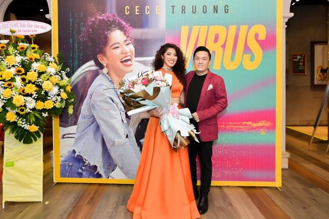 """Dàn sao """"khủng"""" đến chúc mừng con gái út Cẩm Vân - Khắc Triệu ra mắt MV - Ảnh 11."""
