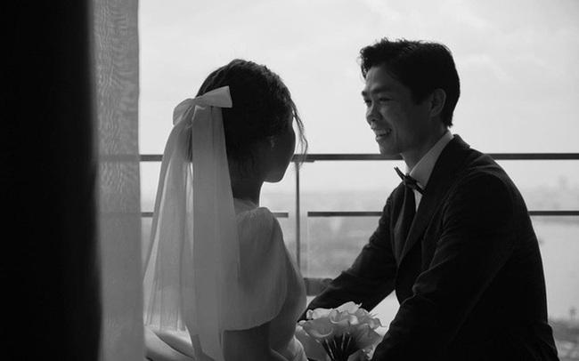 Vợ Công Phượng giản dị hết mức, lần cưới thứ 3 tại quê chồng vẫn chọn tóc búi đơn giản và áo dài đơn sắc  - Ảnh 7.