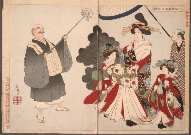 Oiran - kỹ nữ cao cấp thời Edo tại Nhật: Nhan sắc lộng lẫy, thu nhập tiền tỷ và những bí mật ít người biết - Ảnh 1.