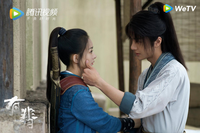 """""""Hữu Phỉ"""": Vương Nhất Bác - Triệu Lệ Dĩnh cuối cùng cũng hôn nhau nhưng buồn ở chỗ không chạm môi  - Ảnh 4."""