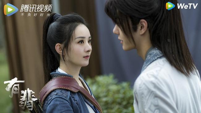 """""""Hữu Phỉ"""": Vương Nhất Bác - Triệu Lệ Dĩnh cuối cùng cũng hôn nhau nhưng buồn ở chỗ không chạm môi  - Ảnh 3."""