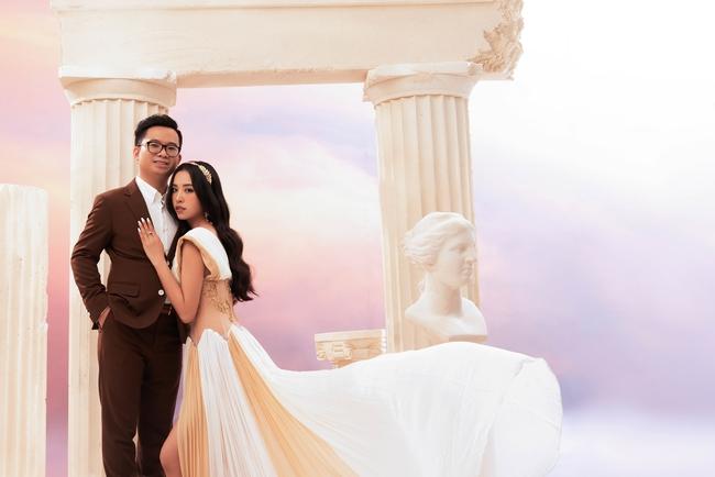 Á hậu Thúy An chính thức tung ảnh cưới đẹp như mơ cùng chồng tiến sĩ, công bố ngày lên xe hoa - Ảnh 9.