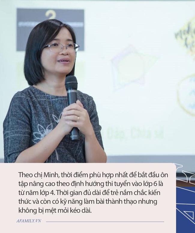 Bà mẹ Hà Nội chia sẻ tất tần tật kinh nghiệm cho con thi chuyển cấp vào lớp 6 - Ảnh 2.