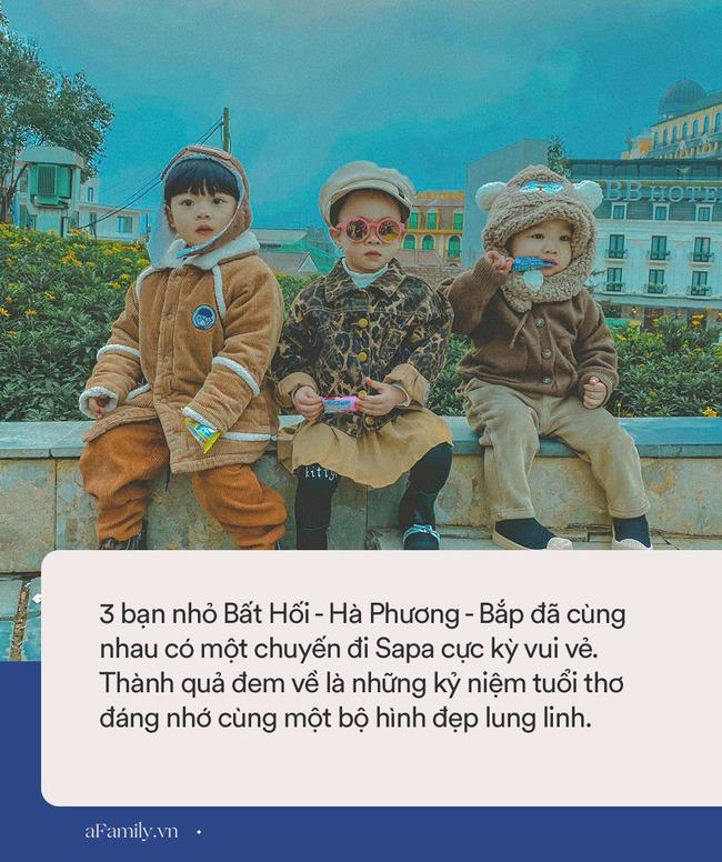 """Bộ ảnh 3 em bé rủ nhau check-in Sapa khiến dân mạng mê mẩn: """"Thanh xuân phải đi Sapa cùng nhóm bạn thân 1 lần"""" - Ảnh 3."""