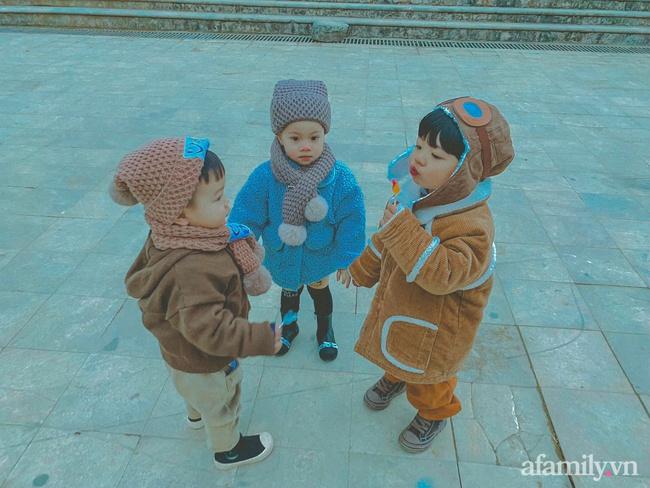 """Bộ ảnh 3 em bé rủ nhau check-in Sapa khiến dân mạng mê mẩn: """"Thanh xuân phải đi Sapa cùng nhóm bạn thân 1 lần"""" - Ảnh 2."""
