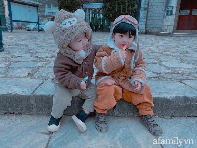"""Bộ ảnh 3 em bé rủ nhau check-in Sapa khiến dân mạng mê mẩn: """"Thanh xuân phải đi Sapa cùng nhóm bạn thân 1 lần"""" - Ảnh 7."""