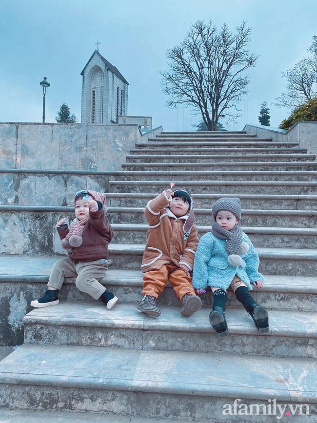 """Bộ ảnh 3 em bé rủ nhau check-in Sapa khiến dân mạng mê mẩn: """"Thanh xuân phải đi Sapa cùng nhóm bạn thân 1 lần"""" - Ảnh 9."""