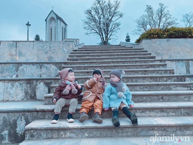 """Bộ ảnh 3 em bé rủ nhau check-in Sapa khiến dân mạng mê mẩn: """"Thanh xuân phải đi Sapa cùng nhóm bạn thân 1 lần"""" - Ảnh 10."""