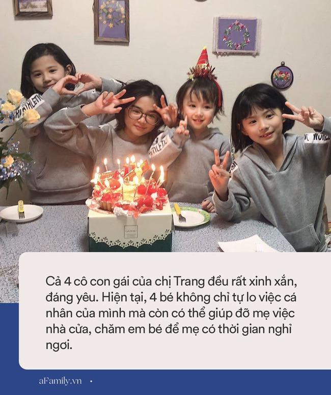 """Mẹ Việt 10 năm sinh 4 con gái, nhìn gương mặt của các bé nhiều người tấm tắc: """"Nhà máy sản xuất hot girl là đây"""" - Ảnh 4."""