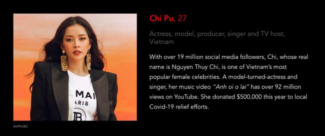 """Trấn Thành, Đông Nhi, Chi Pu bất ngờ lọt BXH của FORBES, """"đứng chung mâm"""" cùng loạt ngôi sao đình đám như Lee Min Ho, Triệu Lệ Dĩnh - Ảnh 2."""