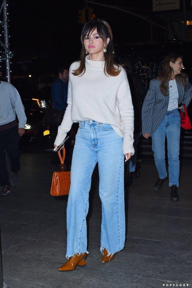 Selena Gomez diện quần jeans theo 11 cách xịn đẹp nức nở và tôn dáng hết cỡ, chị em nên học theo ngay khỏi nghĩ - Ảnh 6.