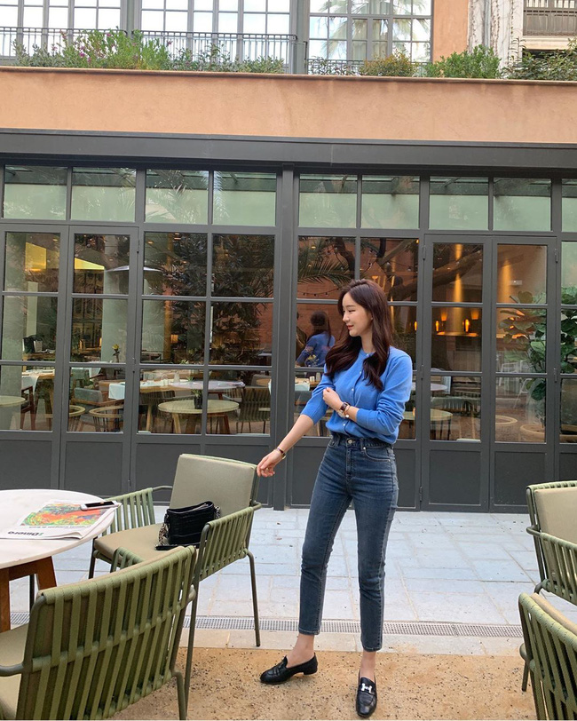 Quần skinny jeans đùng đùng hot trở lại và 12 cách diện bạn nên cập nhật ngay để sành điệu chẳng kém ai - Ảnh 10.