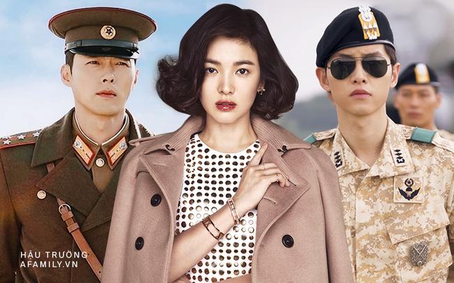 """Hai chàng """"Đại úy"""" đi qua cuộc đời Song Hye Kyo: Đều giàu có và điển trai nhất nhì showbiz nhưng Hyun Bin lại """"hơn đứt"""" Song Joong Ki ở điểm này  - Ảnh 1."""