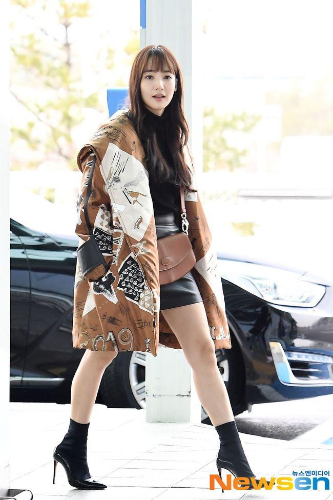 Nhờ áp dụng một chiêu bài mà style sân bay của Park Min Young cứ ngày một sang xịn, bạn học theo là dứt khoát lên đời phong cách - Ảnh 4.