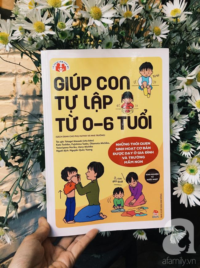 Cuốn sách chỉ dẫn cha mẹ giúp trẻ từ 0-6 tuổi tự lập trong những thói quen sinh hoạt cơ bản - Ảnh 1.