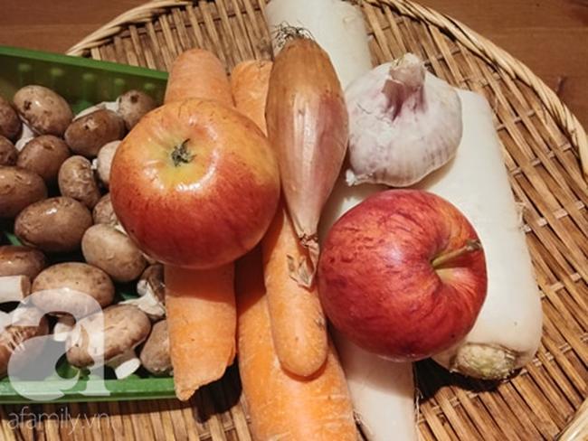 Mẹ Liên Ròm chia sẻ cách làm mọc chay và cách nấu bún mọc chay ngon cho ngày đầu tháng - Ảnh 10.