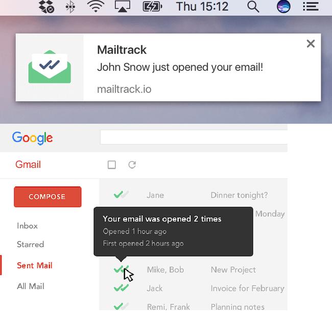 Nằm lòng 3 bước cài đặt MailTrack dễ như ăn kẹo để biết sếp, đồng nghiệp hay nhà tuyển dụng đã đọc email của mình hay chưa - Ảnh 1.