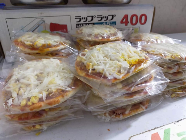 Pizza cấp đông tràn ngập chợ mạng, giá chỉ 160 ngàn đồng/10 chiếc, chủ hàng ngày bán cả 200 chiếc - Ảnh 4.