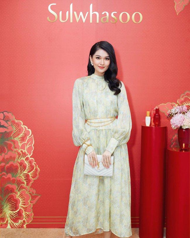 Á hậu Thùy Dung có bao ý tưởng diện váy đẹp xinh và thanh lịch thế này, chị em không tham khảo thì quá phí - Ảnh 8.