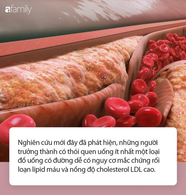 Đồ uống có đường ảnh hưởng thế nào tới sức khỏe tim và nồng độ cholesterol? - Ảnh 1.