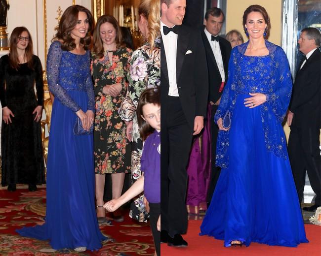 Diện lại đồ cũ phải đẳng cấp như Công nương Kate: Tuổi đã cao hơn nhưng trông lại trẻ ra và sang trọng gấp trăm lần mới tài - Ảnh 4.