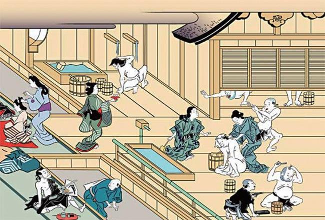 Văn hóa nam nữ tắm chung của Nhật Bản: Nét văn hóa siêu độc đáo và lịch sử hình thành từ thời cổ đại đầy thú vị - Ảnh 2.