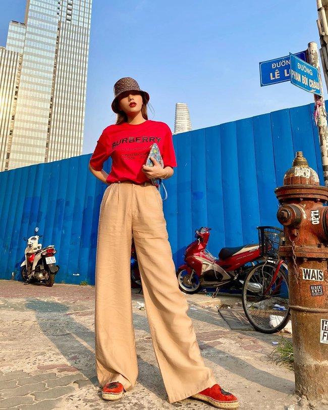Diện quần ống suông đã chất ngất còn tôn dáng hết cỡ với loạt ý tưởng từ các mỹ nhân Việt - Ảnh 9.