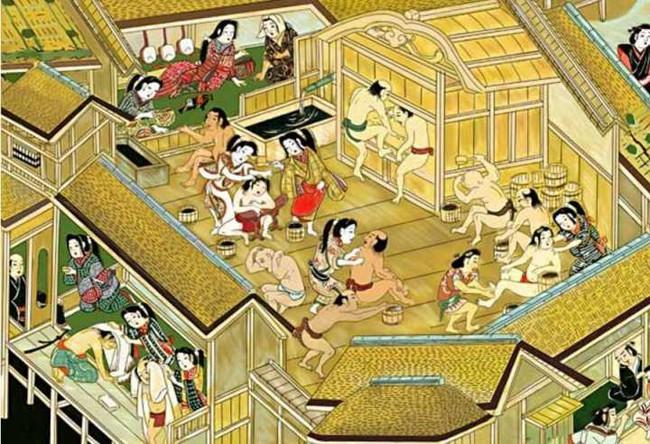Văn hóa nam nữ tắm chung của Nhật Bản: Nét văn hóa siêu độc đáo và lịch sử hình thành từ thời cổ đại đầy thú vị - Ảnh 1.
