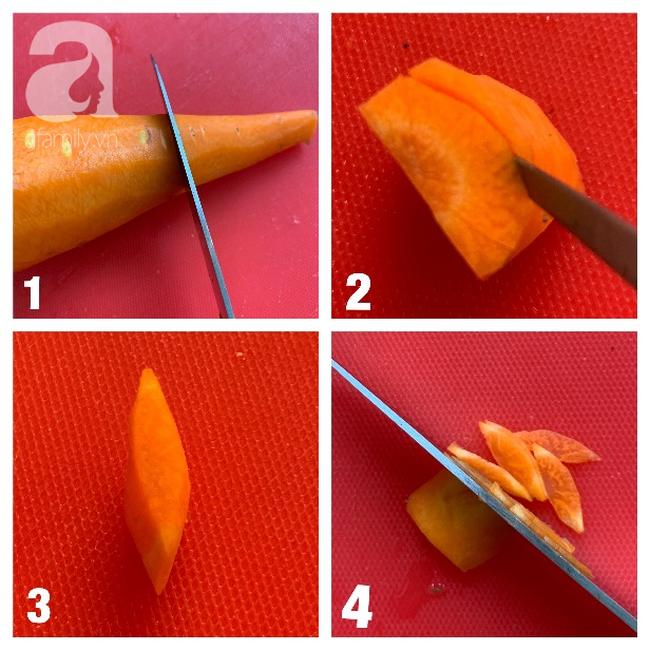 Dùng cà rốt và vỏ bí trang trí đĩa ăn đẹp tinh tế không ngờ lại dễ đến thế! - Ảnh 2.