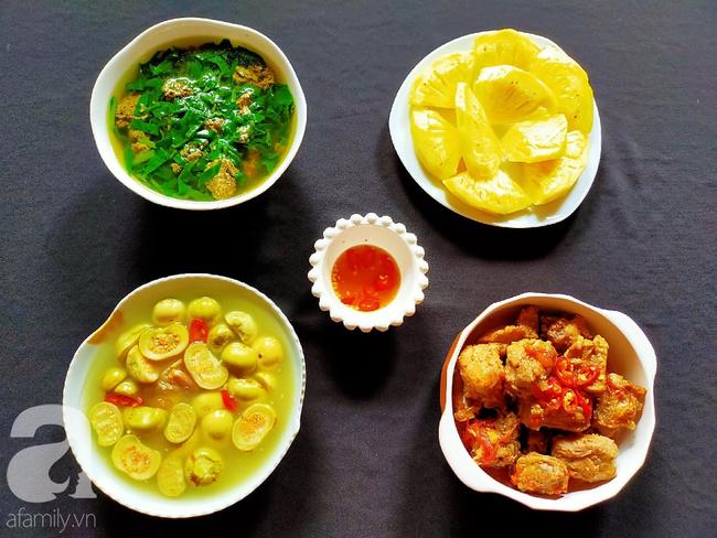 Mâm cơm chuẩn ngày nắng nấu siêu nhanh mà ăn ngon hết cỡ