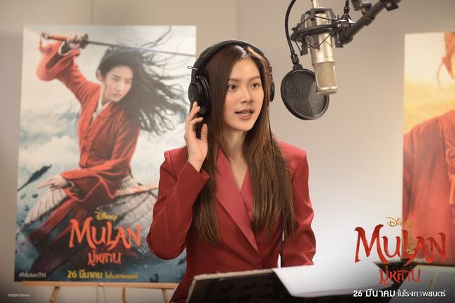 """Baifern Pimchanok lồng tiếng """"Mulan"""", nhan sắc đỉnh cao đẹp không thua kém Lưu Diệc Phi  - Ảnh 3."""