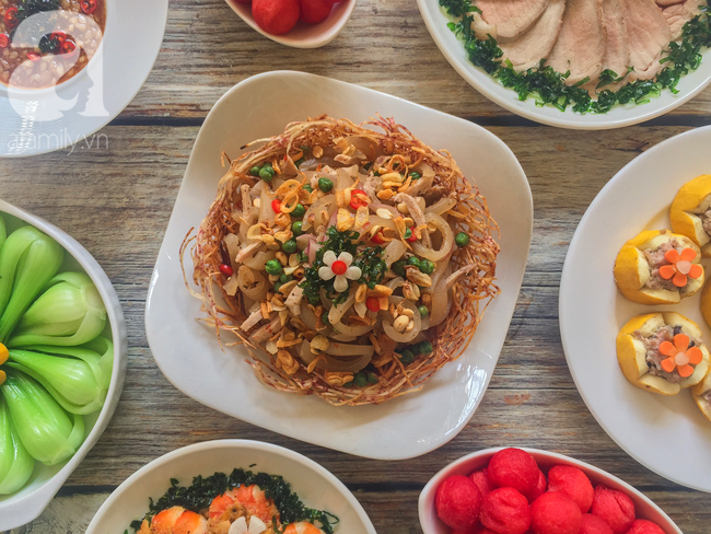 Mâm cơm cuối tuần 8 món ngon đẹp hơn tiệc nhà hàng khiến ai cũng phải ngưỡng mộ trầm trồ - Ảnh 7.