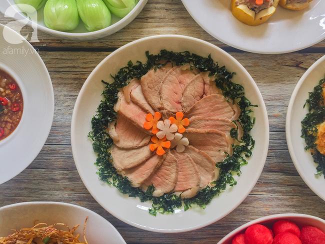 Mâm cơm cuối tuần 8 món ngon đẹp hơn tiệc nhà hàng khiến ai cũng phải ngưỡng mộ trầm trồ - Ảnh 6.