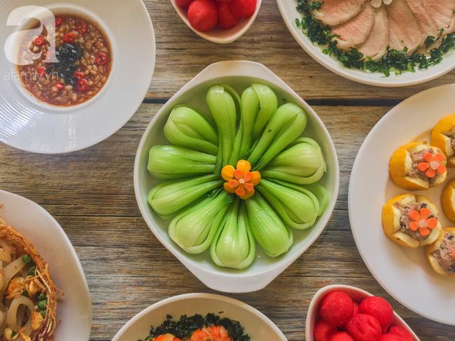 Mâm cơm cuối tuần 8 món ngon đẹp hơn tiệc nhà hàng khiến ai cũng phải ngưỡng mộ trầm trồ - Ảnh 3.