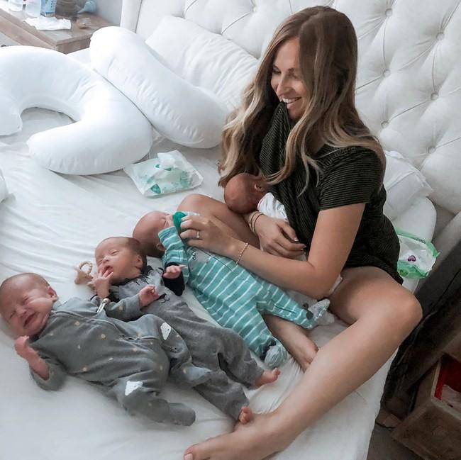Bà mẹ sinh ra cả một đàn con dù các bác sĩ chẩn đoán chất lượng trứng kém - Ảnh 7.