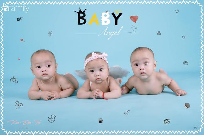 Hé lộ cuộc sống của gia đình bỉm sữa sinh ba: 2 tháng đầu gần như trắng đêm, bà nội, ngoại và 2 người giúp việc hỗ trợ mới xuể - Ảnh 9.