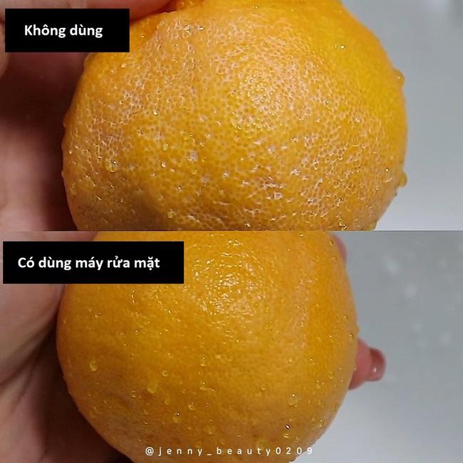 Thí nghiệm làm sạch bong tinh khiết vỏ cam sẽ khiến chị em muốn tậu ngay một chiếc máy rửa mặt để nâng cấp làn da - Ảnh 6.