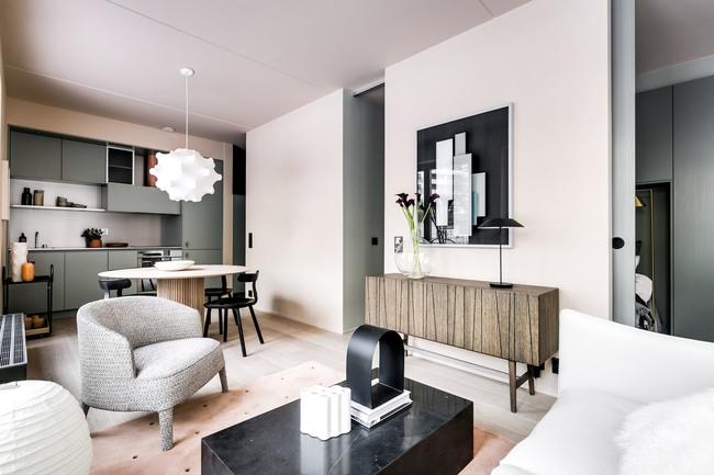 Mãn nhãn với căn hộ nhỏ trong thành phố của Note Design Studio - Ảnh 3.