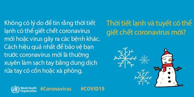 WHO giải đáp 9 tin đồn hoang đường về dịch COVID-19: Tất cả chúng ta đều cần nắm rõ để phòng dịch cho đúng - Ảnh 2.