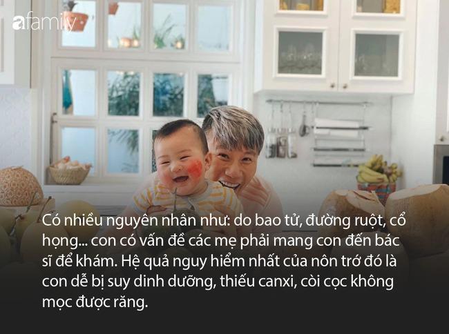 Bà xã ca sĩ Hoàng Bách mách các mẹ mẹo giảm tình trạng nôn trớ ở trẻ sơ sinh - Ảnh 5.