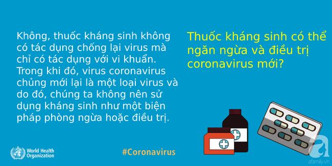 WHO giải đáp 9 tin đồn hoang đường về dịch COVID-19: Tất cả chúng ta đều cần nắm rõ để phòng dịch cho đúng - Ảnh 9.