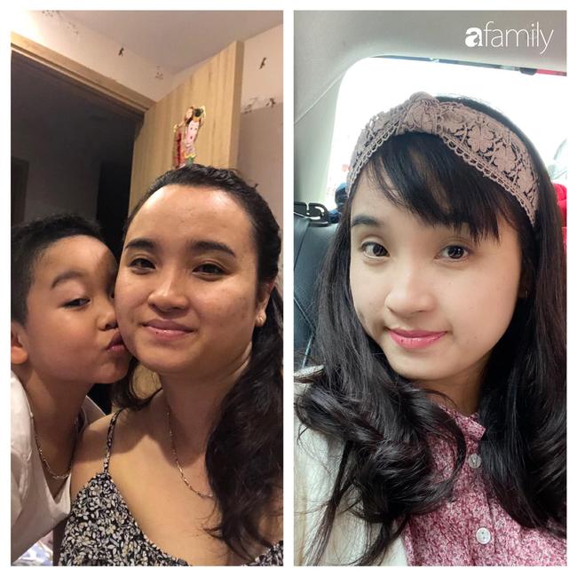 Con được 4 tuổi bụng vẫn rạn, to, xệ như bầu 7 tháng, mẹ trẻ Hà Nội quyết tâm hồi dáng ngoạn mục sau sinh lần 2, còn có ông xã giảm cân cùng - Ảnh 8.