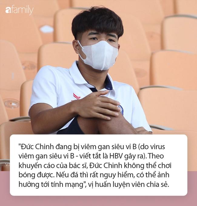 Cầu thủ Đức Chinh bị viêm gan siêu vi B, có thể nguy hiểm tính mạng nếu tiếp tục chơi bóng - Ảnh 1.