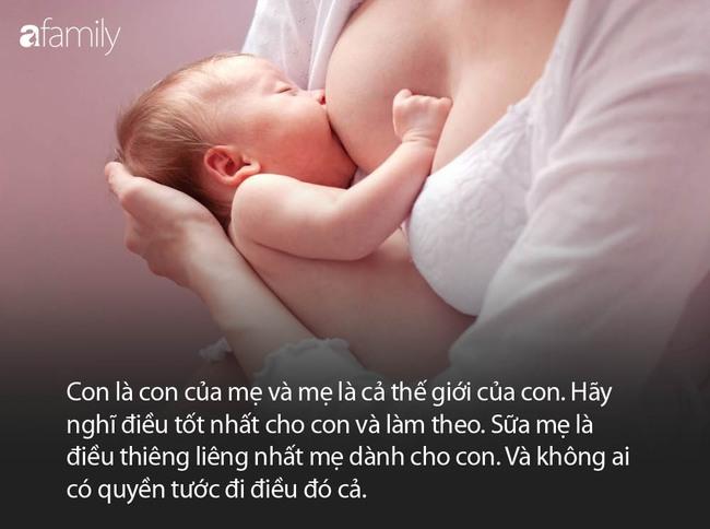 Bé 4 tháng tuổi bị thiếu máu sau khi ngừng uống sữa mẹ vì bà nói... sữa mẹ nóng - Ảnh 5.