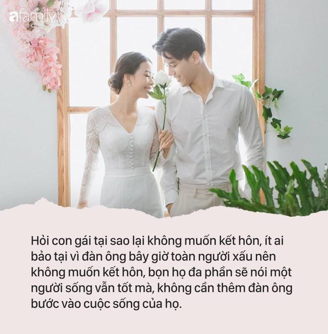 Tại sao phụ nữ càng ngày càng càng có xu hướng không kết hôn, câu chuyện kể ra khiến người ta suy nghĩ! - Ảnh 1.