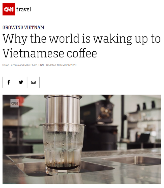 Cafe Việt lại được vinh danh trên báo quốc tế: Với người Việt, cafe không chỉ là năng lượng, đó là một phong cách sống - Ảnh 2.