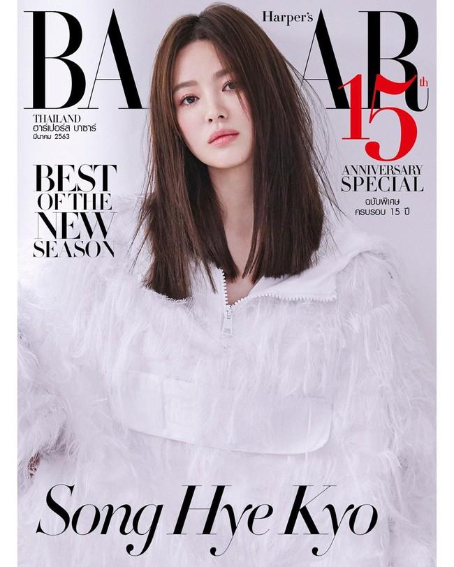"""Nhìn lại mới thấy, đây là kiểu tóc giúp Song Hye Kyo """"cải lão hoàn đồng"""" ngoạn mục nhất? - Ảnh 1."""